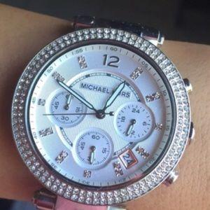 Michael Kors Parker Stainless Steel Women's Watch